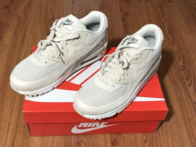 537384 132 Nike Air Max 90 Essential Herren Lifestyle Schuhe Beige