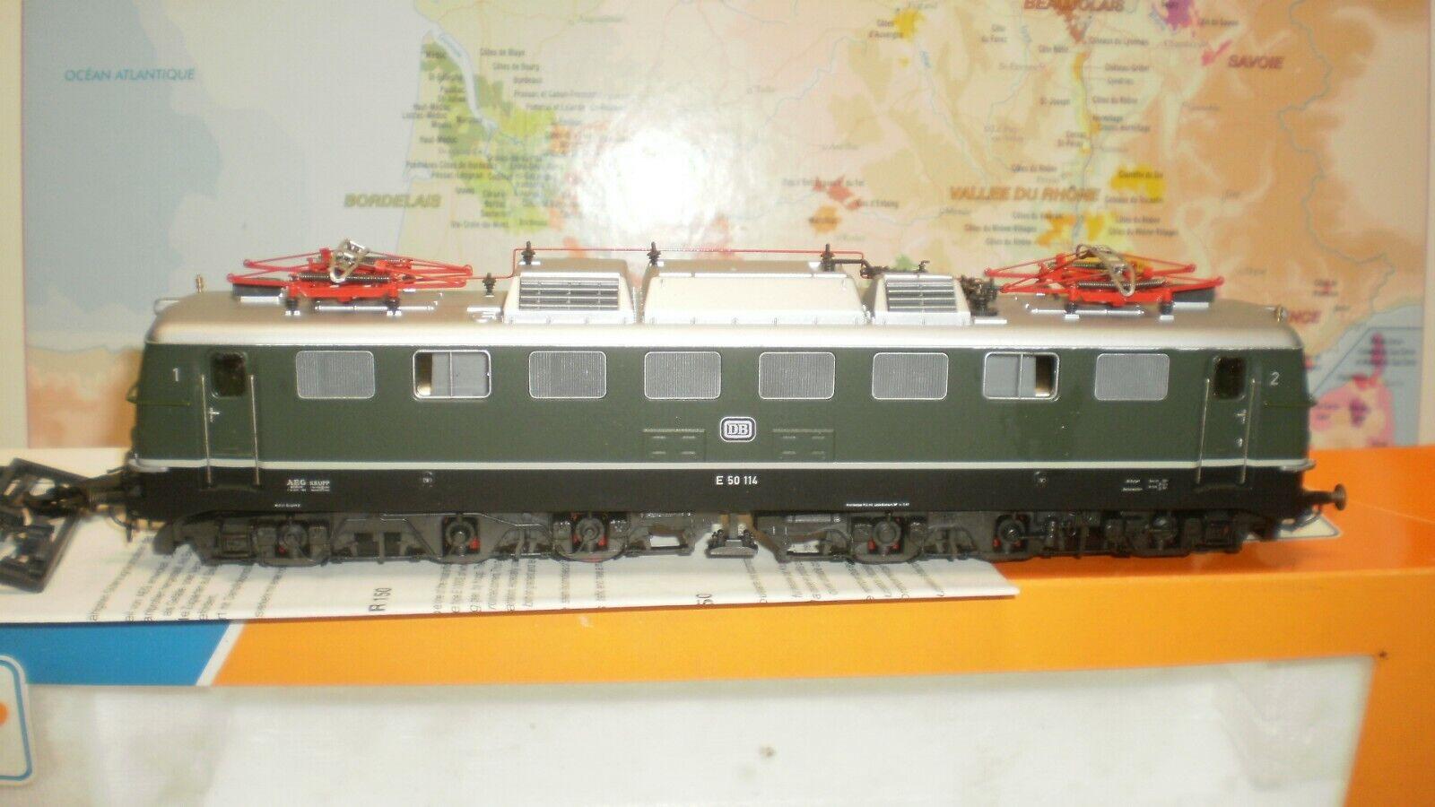 Loco électrique E 50 114 DB Roco HO