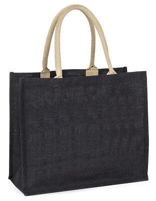 Silber Maine-Coon Katze große schwarze Einkaufstasche Weihnachten Geschenkidee,