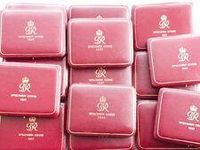 1937 Royal Mint George VI Coronation Sovereign Gold Proof 4 Coin Set Box Only