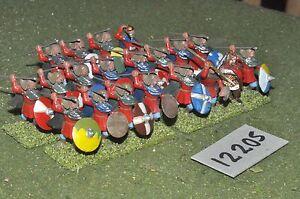 25mm Dark Ages/Viking-Warband 20 FICHI-INF (12205)