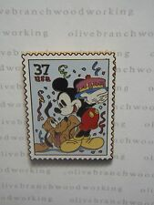 2005 Disney USPS Post Office CELEBRATION MICKEY MOUSE & PLUTO Postage Stamp Pin