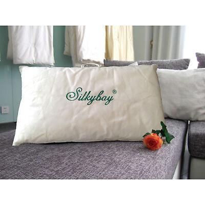 100% A grade Mulberry Silk Filled Pillow - Standard Size