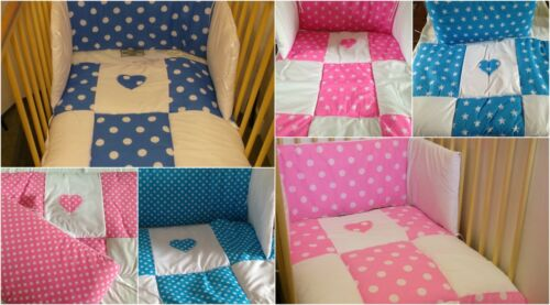 baby bedding cot set quilt and bumper set patchwork design new