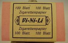 "Originales "" Vi-Ni-Li "" Zigarettenpapier OVP 2 WK vor 1945"