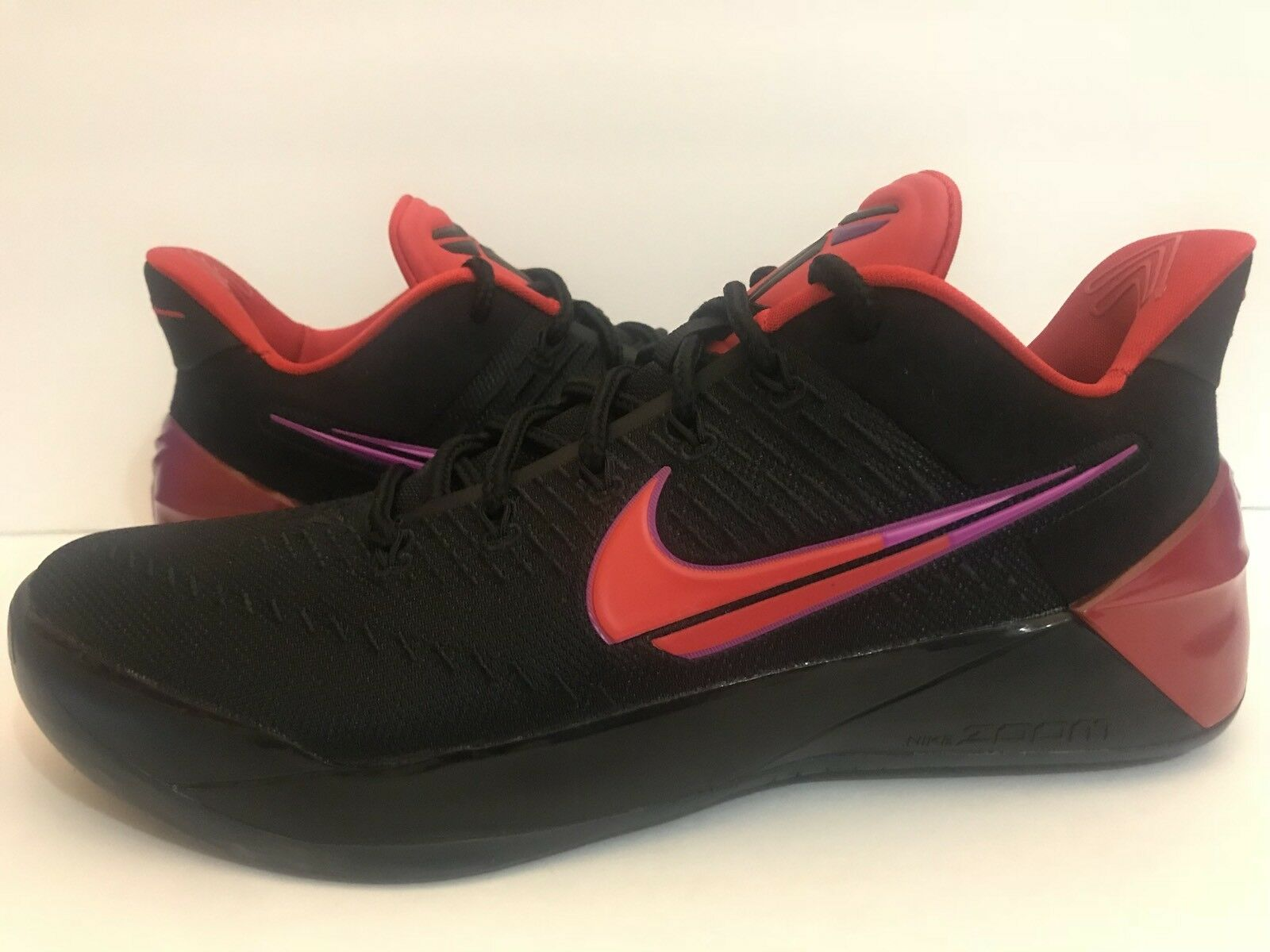 Nike Kobe A.D. Flip The Switch Black Hyper purple Red 852425-004 Sz 13 15