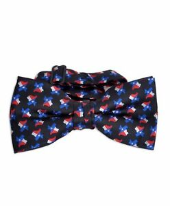 Texas-Flag-amp-Map-Banded-Bow-Tie-NFB10018