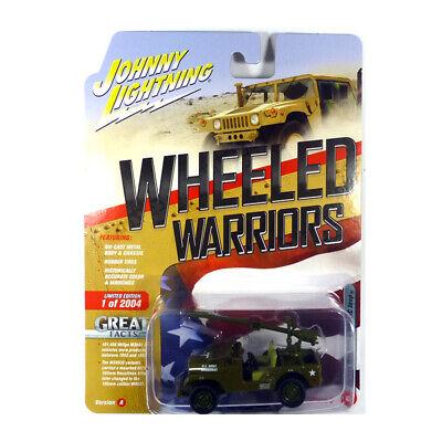 Wheeled Warriors 1:64 NEU!° Johnny Lightning JLML005-A4 Hummer M998 Cargo-Troop