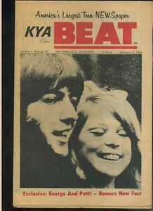 KYA-Beat-Vol-1-29-Feb-12-1966-George-Harrison-Beatles-Young-Rascals-MBX20