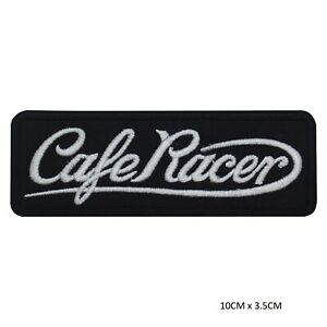Cafe-Race-Bikers-Sew-on-Iron-on-Patch-Badge-Embroidered-for-Clothes-Wallets-etc