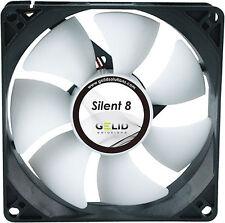 PQ280 Gelid Silent 8 cm 80mm Quiet Cooling Case Fan
