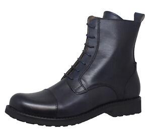 Details zu Gallucci 5270 Mädchen Stiefeletten Schnürer Boots Leder schmal Gr. 34 40 Neu