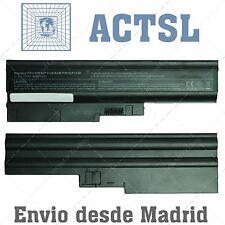 """BATERIA para LENOVO ThinkPad T61 (14.1""""/15.4"""")  FRU 92P1141 10.8v  6-cells"""