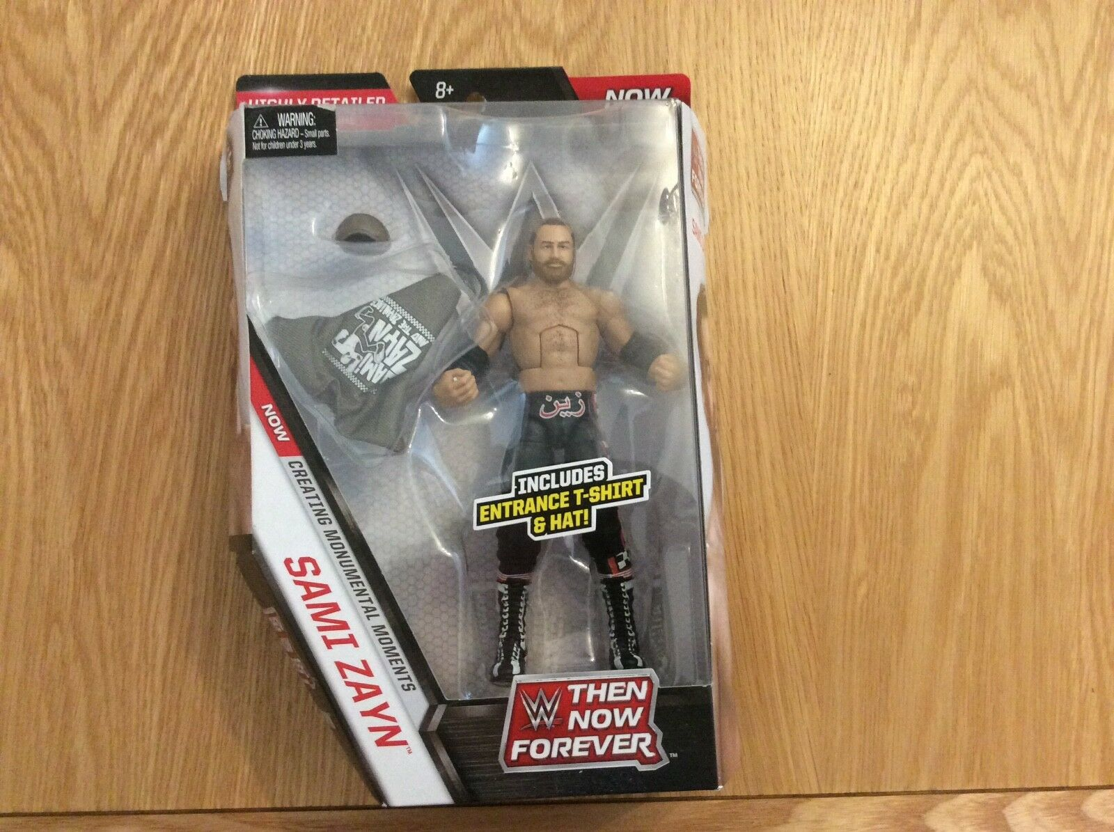 Wwe nxt sami zayn then now forever elite figure rare usa import new and sealed