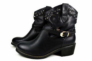 elegante damen boots stiefeletten cowboystiefel. Black Bedroom Furniture Sets. Home Design Ideas
