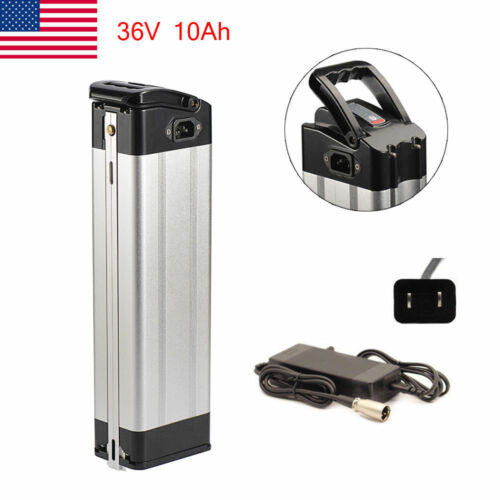 X-go Top Discharge 36V 10Ah Lithium Battery w// Charger Electric Bicycle E-bike