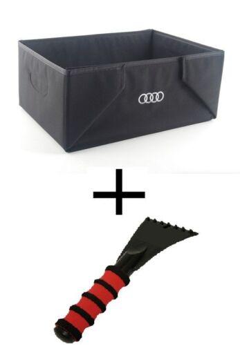 Audi Original Winter Set Paket Faltbox Gepäckbox plus Eiskratzer 8U0061109