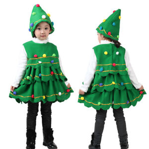 Toddler Christmas Tree Costume.Details About Toddler Baby Girls Christmas Tree Costume Dress Tops Kids Party Vest Hat Outfits