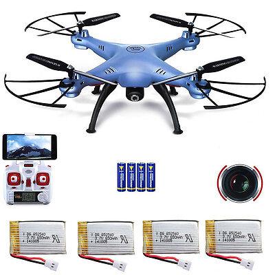 Neuheit 2016 Syma X5HW Drohne mit FPV/Live Übertragung WiFi Kamera Quadrocopter