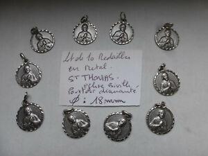 lot-de-10-medaille-religieuse-SAINT-THOMAS-en-metal-couleur-argent-biville