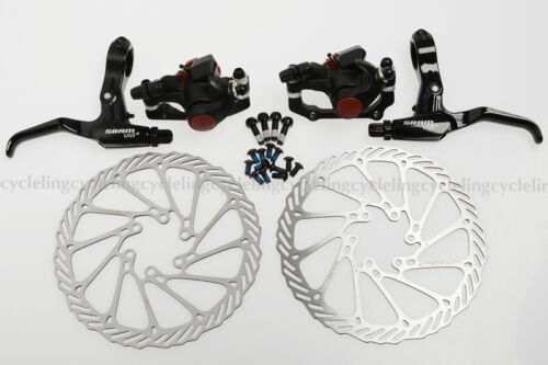AVID BB5 Mechanical Disc Brake Front /& Rear Caliper 160mm G3 Rotor FR5 Lever