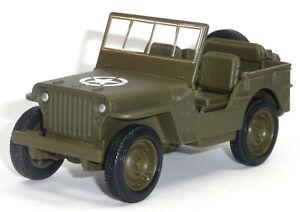 Nuevo-1941-Willys-MB-Jeep-coche-modelo-aprox-10cm-v-oliva-abierta-mercancia-nueva-de-Welly