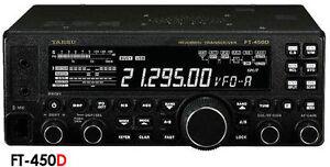 YAESU-FT-450-D-RTX-HF-50MHz-AVEC-TUNER-INTERIEUR-REF-100053