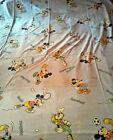 Drap Disney Mickey CTI taie traversin vintage sheet bedding pillowcase