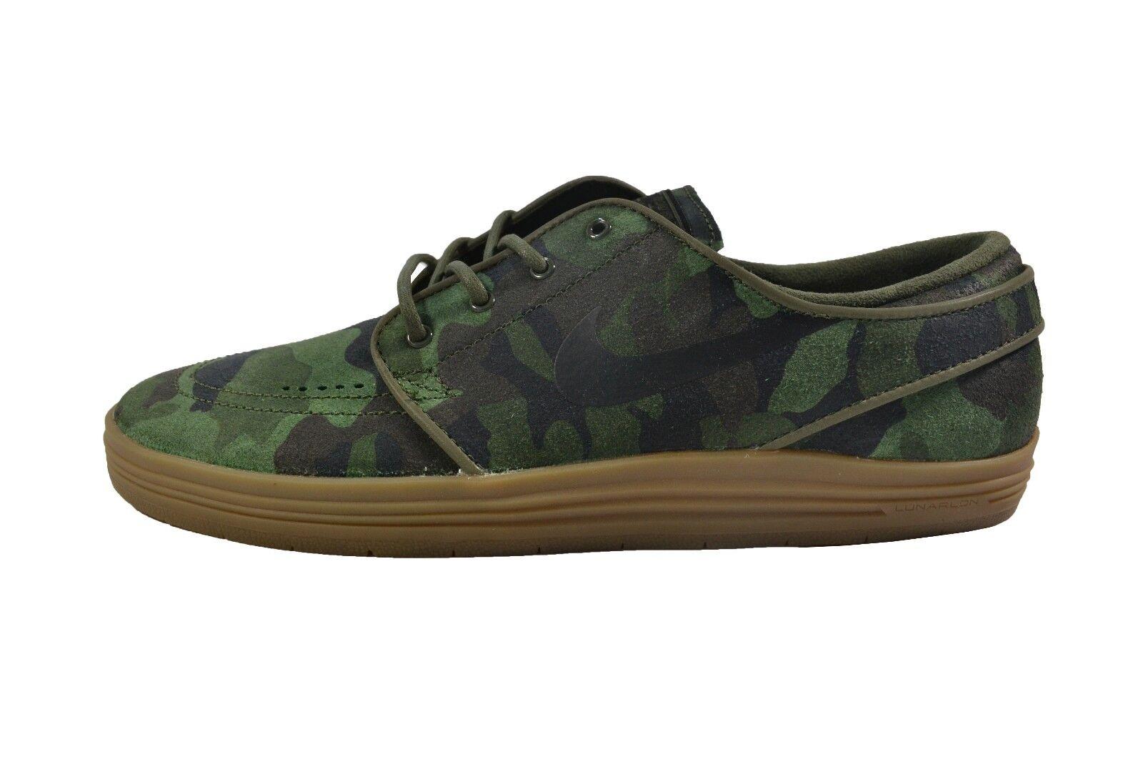 Nike LUNAR STEFAN JANOSKI QS QS JANOSKI Cargo Khaki noir Discounted (424) homme chaussures 01da57