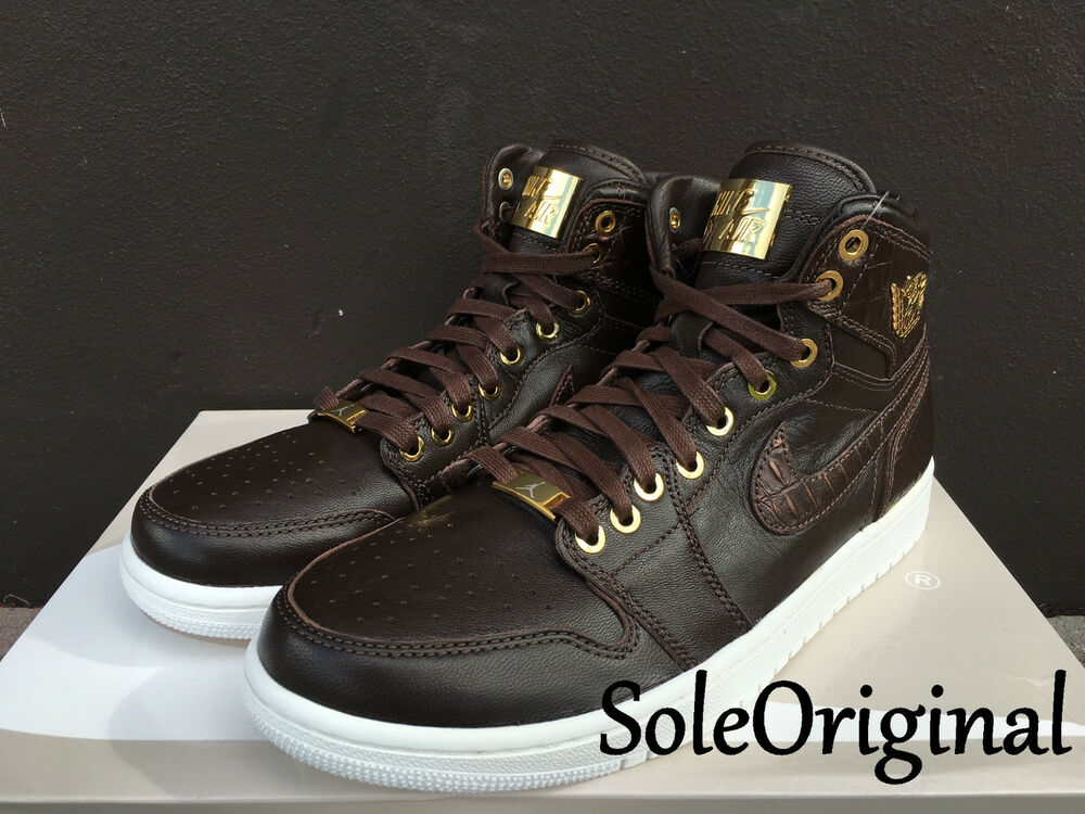 Nike Air Jordan 1 Retro High Pinnacle SZ 11 Baroque Brown Croc Lux OG 705075-205