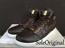 Nike Air Jordan 1 Retro High Pinnacle SZ 14 Baroque Brown Croc Lux OG 705075-205