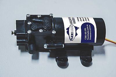 12V DC, 5/min, 80W Micro Car High Pressure Water Pump for Water Bladders