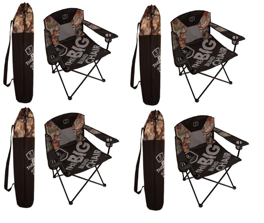 BA800 Barronett Blinds Big Blind más más más tamaño Suelo Ciego silla de caza Paquete de 4 8d6856