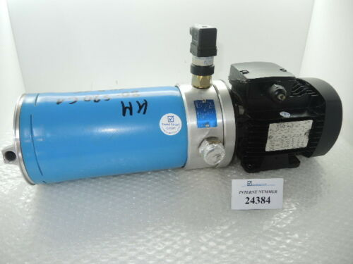 By-pass Filterung ARGO Typ SK 3750/37 Inkl. Leroy Somer Motor Typ LS 63