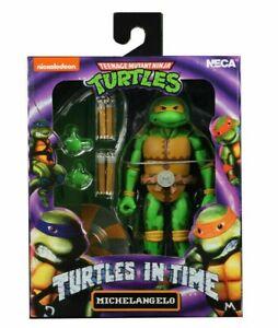 NECA-Teenage-Mutant-Ninja-Turtles-in-Time-Series-2-Michelangelo-7-034-Action-Figur