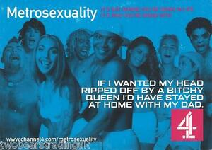 Metrosexuality tv show