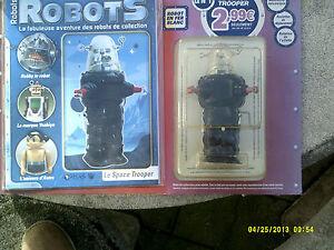 Robots-le Space Trooper N ° 1 De La Collection Atlas