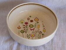 Vintage Retro Mod Lenox Sprite Temper Ware Soup Cereal Bowl Butterfly Flowers