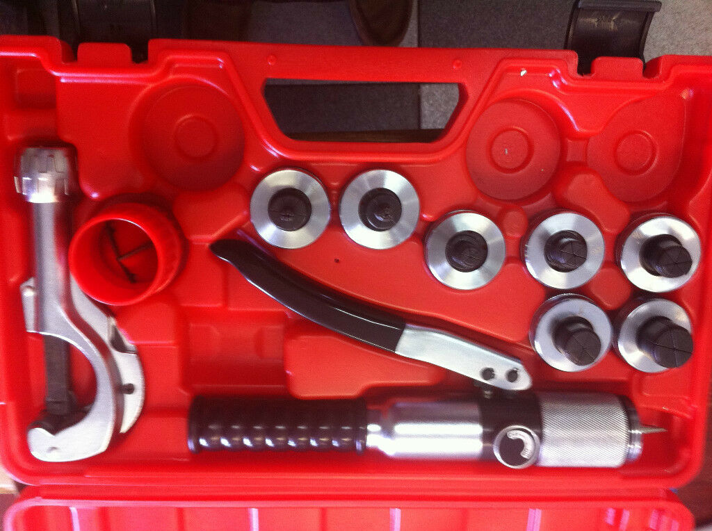 CT-300A 3 8  to 1-1 8  Hydraulic Tube Expander Tool Copper Pipe Expander Kit