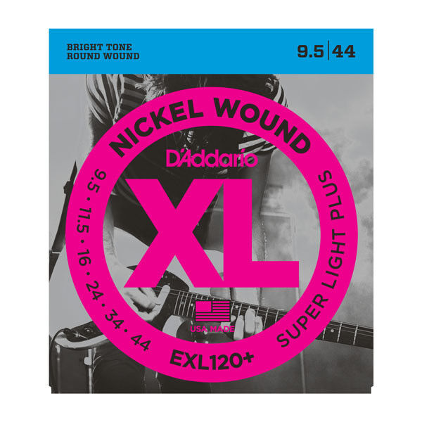 "D'Addario Exl120+ Corde per Chitarra Elettrica 9.5-44. The Ideale "" Step Up """