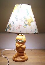 Garfield Ceramic Lamp 1978, 1981 United Feature Syndicate collectors vintage