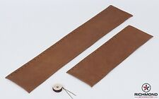 2006 Ford F250 2-Piece KING RANCH Leather Steering Wheel Cover w/Needle & Thread