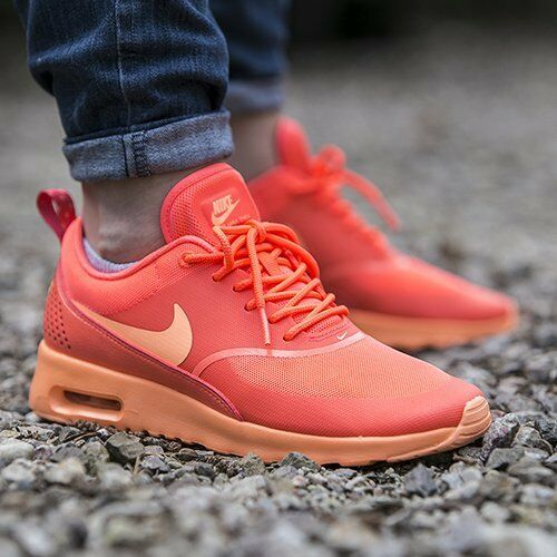 half off d778e e475f Nike Air Max Thea Womens Shoes Size 11 599409-801 Hot Lava sunset Glow for  sale online   eBay
