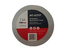 Echo Tape 3 Foil Tape Mt A7757 All Weather Aluminum Foil Tape 3 X 50 Yd