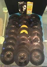 Vintage Huge Lot of 26 ELVIS PRESLEY early 45 rpm RCA Victor All Different