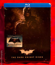 The Dark Knight Trilogy Lenticular Limited Edition Steelbook [Blu-ray] Rare