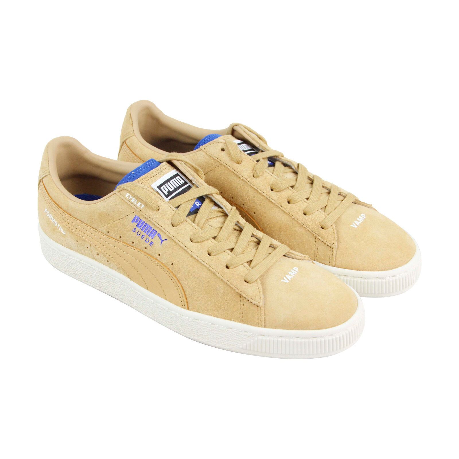 Puma Suede Ader Error Mens Tan Suede Lace Up Sneakers shoes