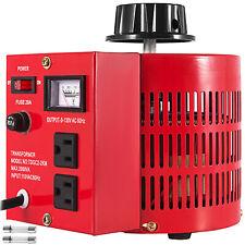 Variac Transformer Variable Ac Voltage Regulator 2000va 2kva Us Plug 0130v