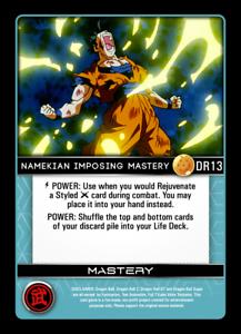 Dragon Ball Z DBZ TCG Fusion Set 13 Proxy Foil DR13 Namekian Imposing Mastery