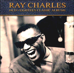 RAY-CHARLES-Eighteen-18-Classic-Albums-NEW-10-CD-Box-Set-189-Songs